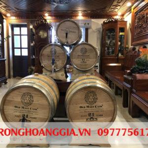cơ sở sản xuất thùng rượu gỗ sồi Hoàng Gia
