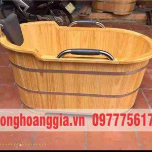 bồn tắm gỗ cao cấp Hoàng Gia