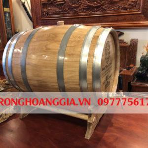 thùng gỗ sồi ngâm rượu Hoàng Gia