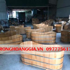 Quy trình sản xuất bồn tắm gỗ tự nhiên